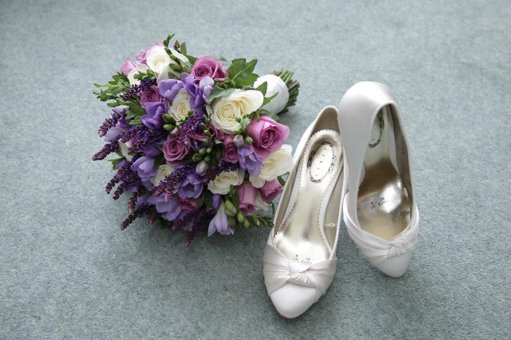 The  Brides Wedding shoes
